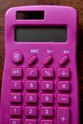 22nd Mar 2020 - Pink Calculator - Rainbow2020