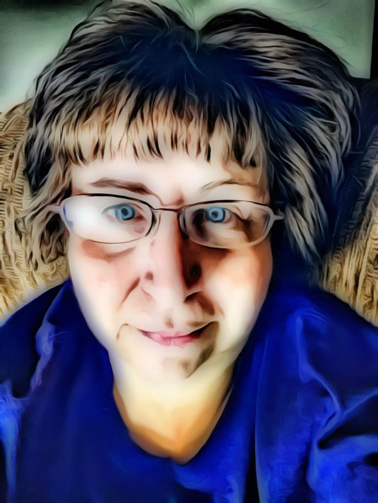 Painted Selfie by homeschoolmom