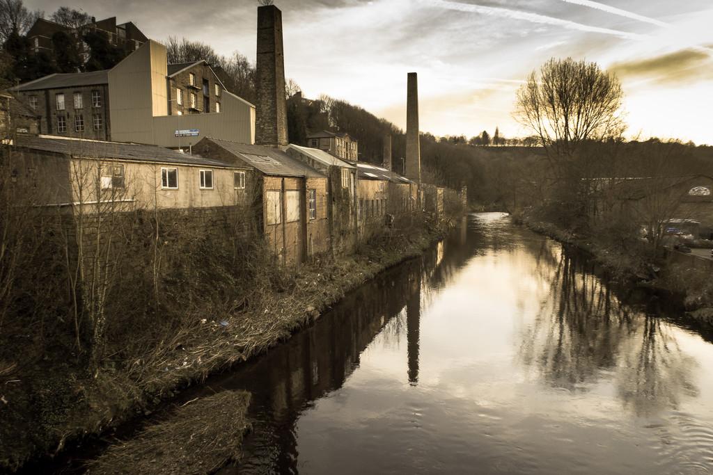 Calder mills by peadar