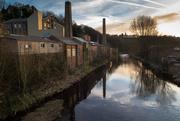23rd Mar 2020 - Calder mills in technicolour
