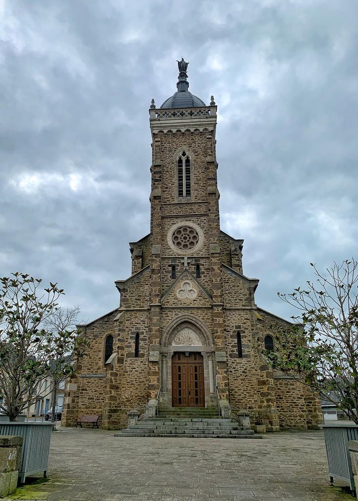 Church of Saint Lunaire.  by cocobella