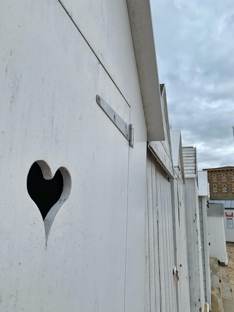 Heart on white beach lodge.  by cocobella