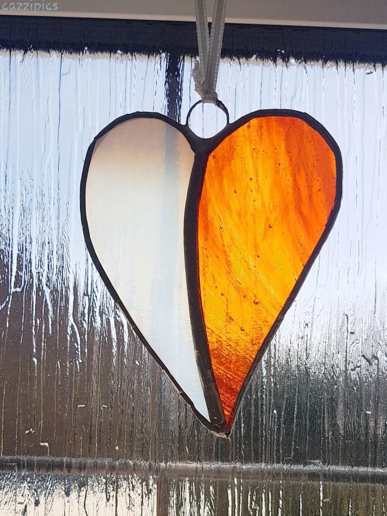 Orange Heart by serendypyty