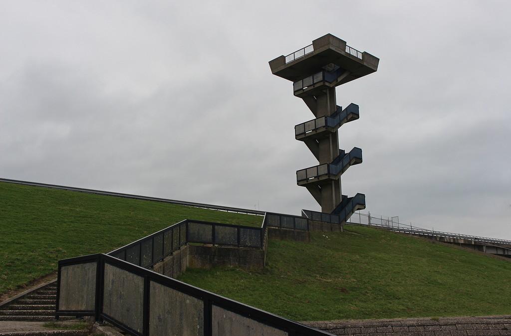 Zigzag Watch Tower. by pyrrhula