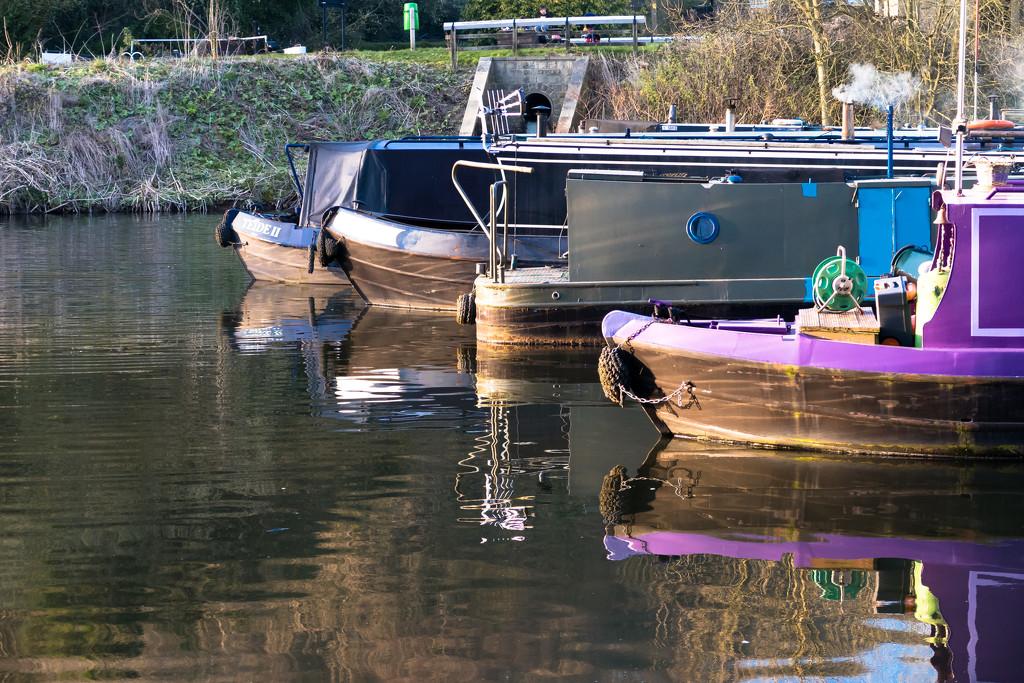 Narrowboats by peadar