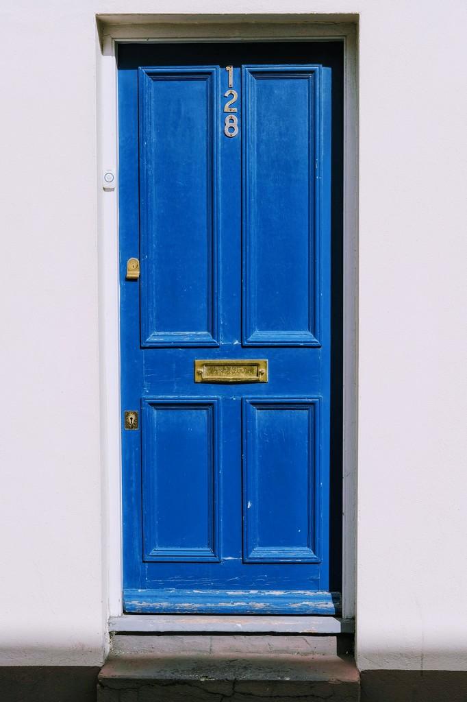 The Blue Door by 4rky
