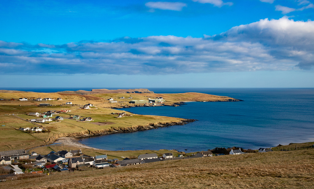 Hoswick Bay and Beyond by lifeat60degrees