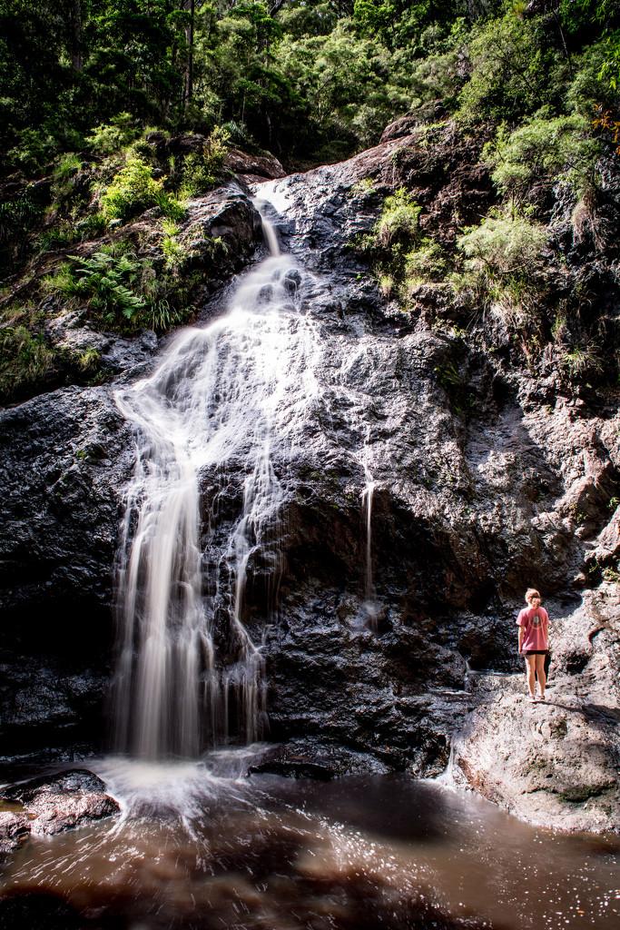 Gheerulla falls by spanner