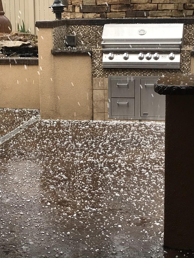 Hail storm  by samae