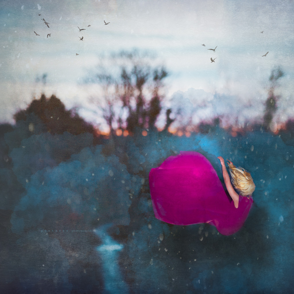 letting go by pistache