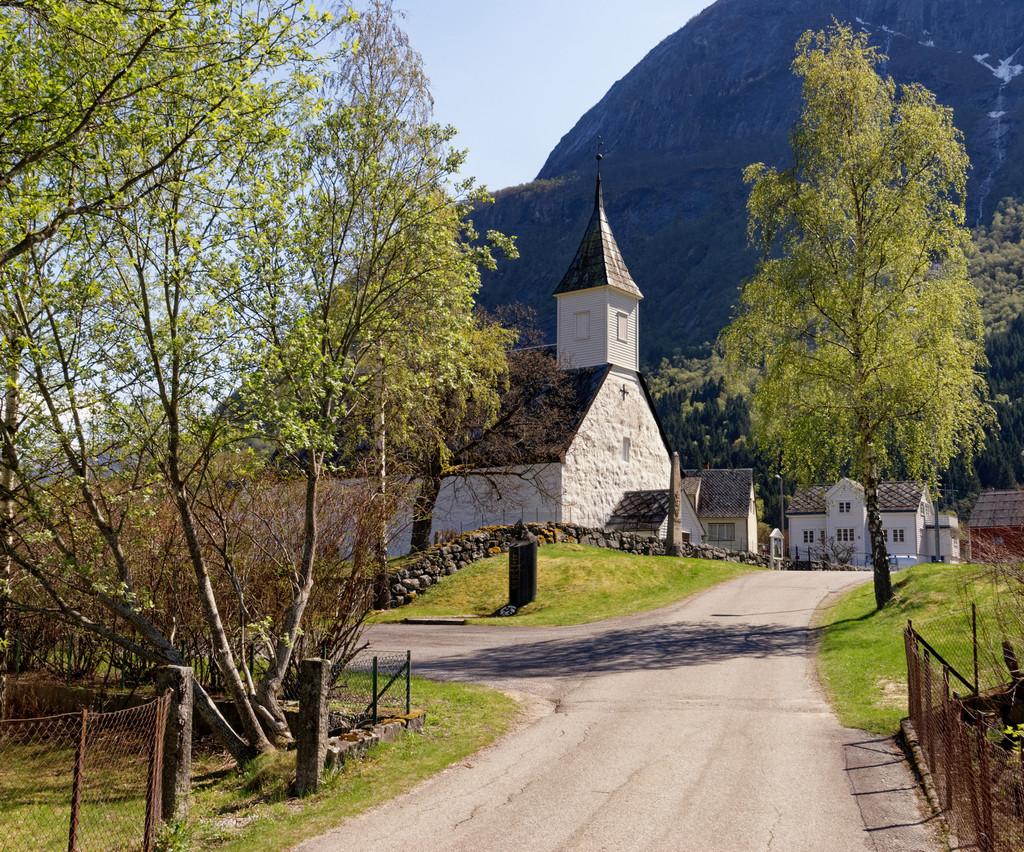 0329 - Church at Eidfjord by bob65
