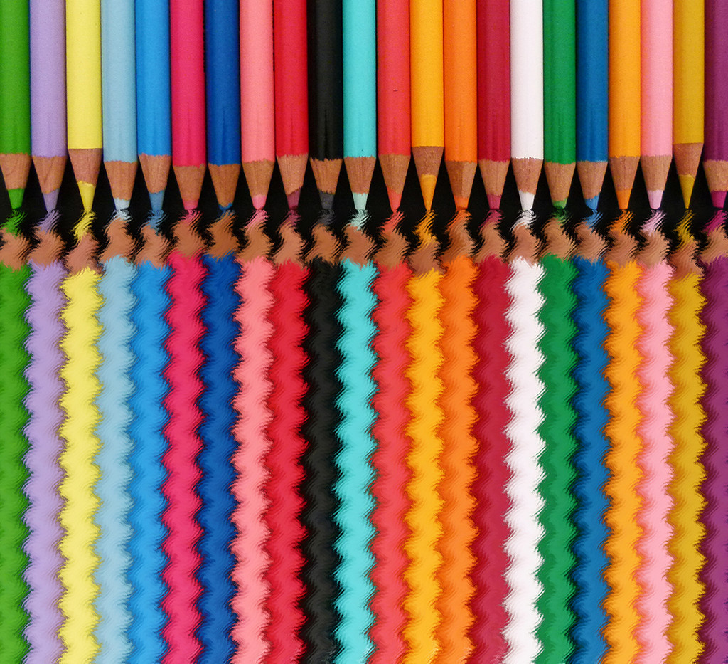 Wavy Pencils by onewing