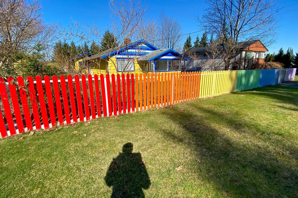 Rainbow fence by kwind