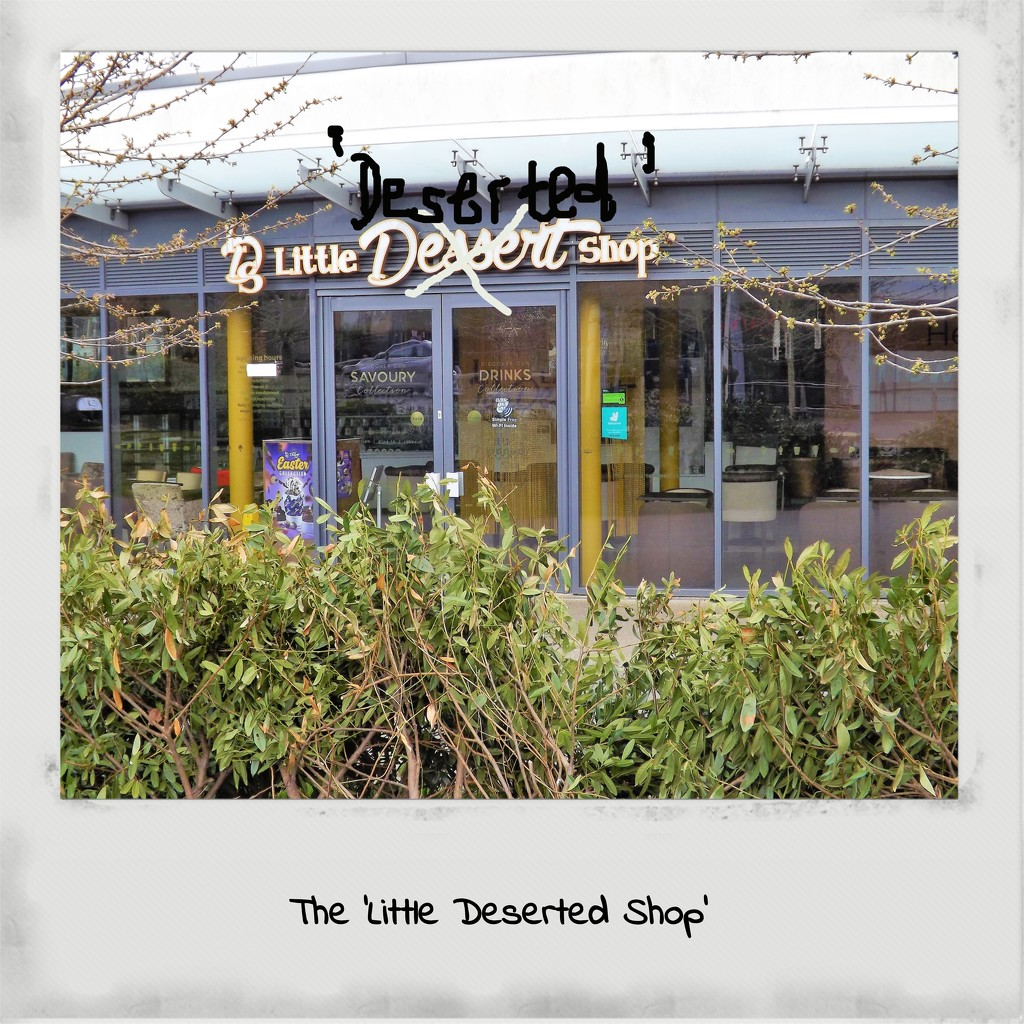 The 'Little Deserted Shop' by ajisaac