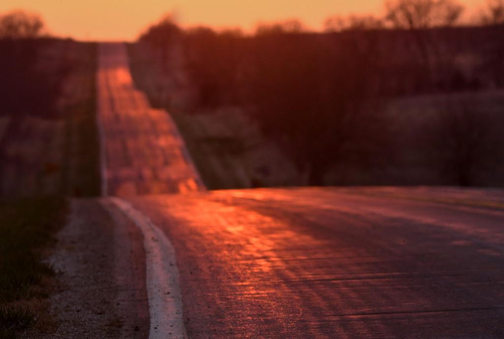 That Ribbon of Highway by kareenking