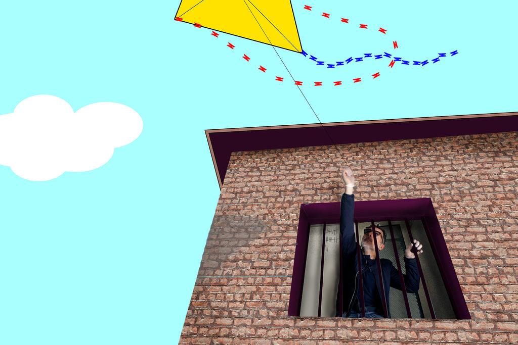 The kite #10 by domenicododaro