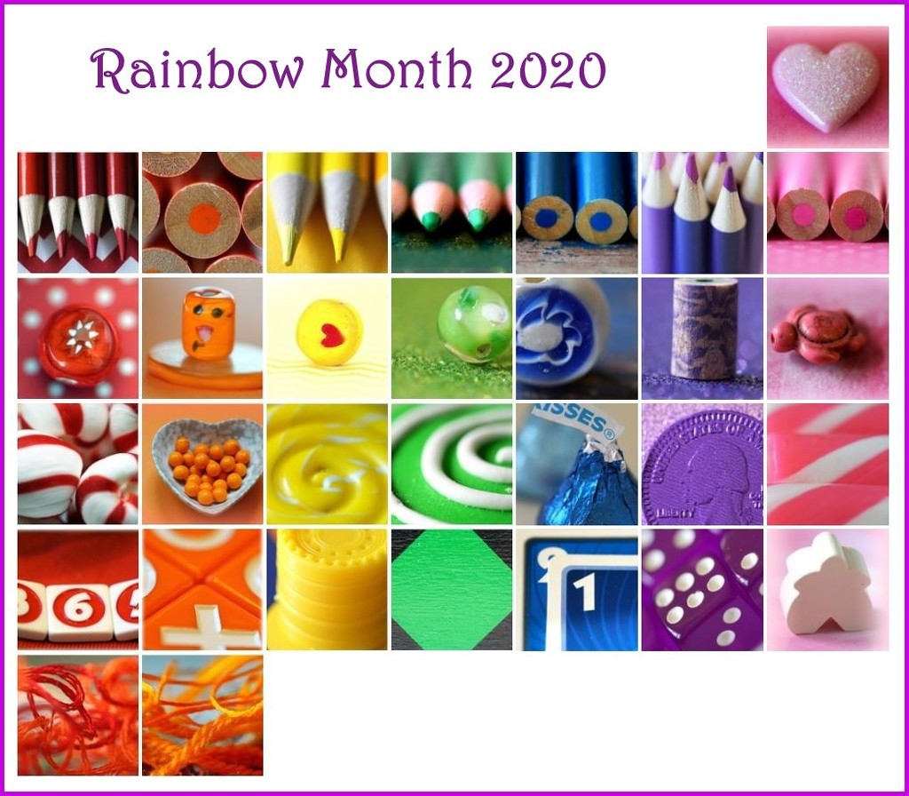 Rainbow Calendar 2020 by sunnygirl