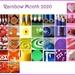 Rainbow Calendar 2020