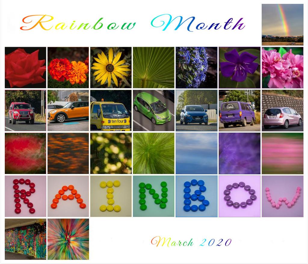 Rainbow Month by nickspicsnz