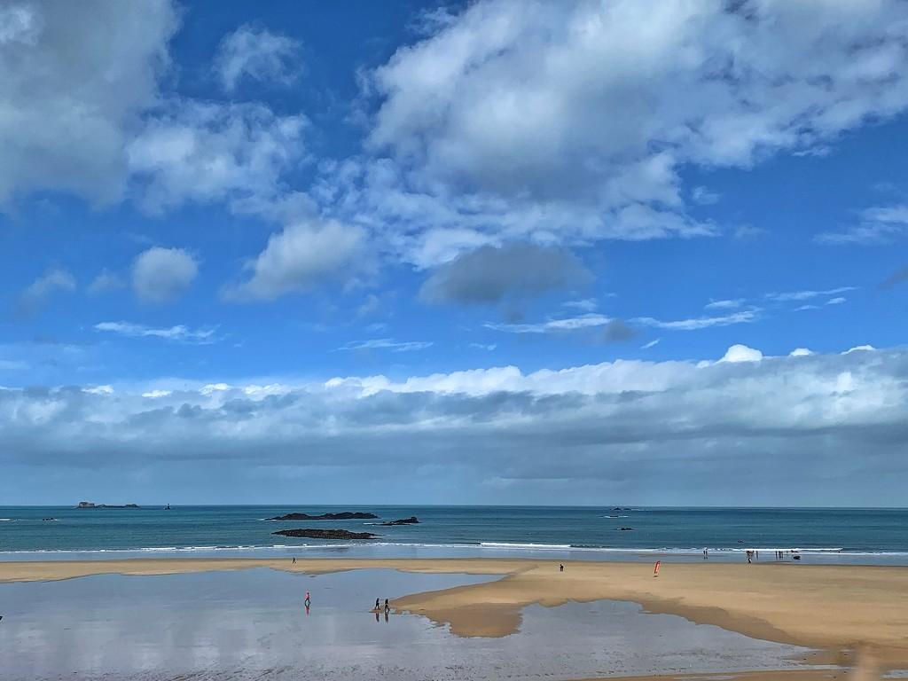 Sky sea sand.  by cocobella