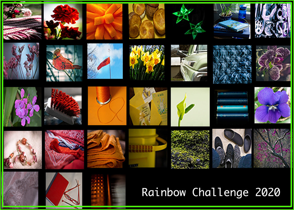 Rainbow Collage by randystreat
