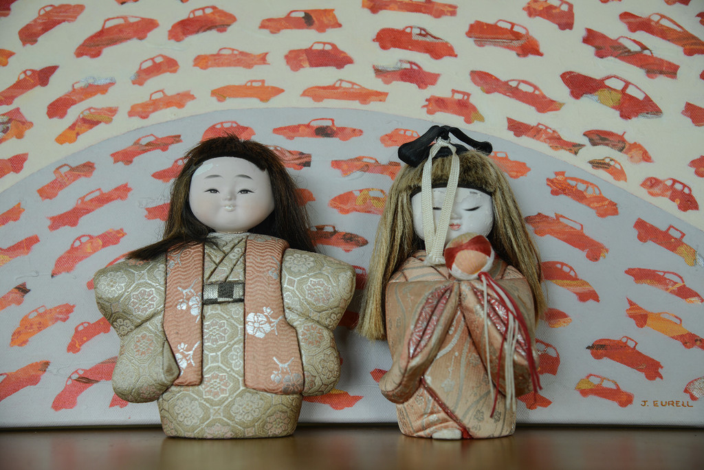 Day 1: Japanese dolls - My models by jeneurell