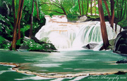 1st Apr 2020 - Waterfall (painting)
