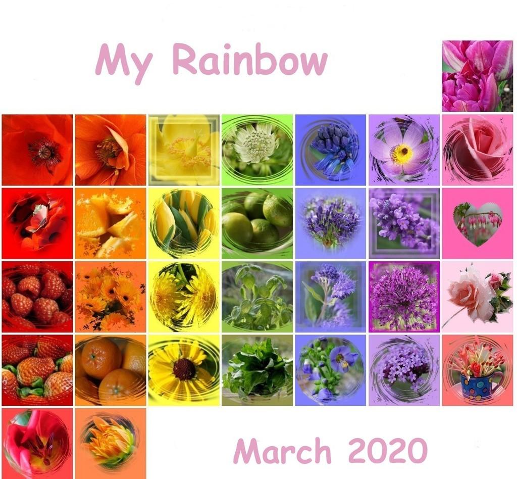 My rainbow for March 2020 by quietpurplehaze