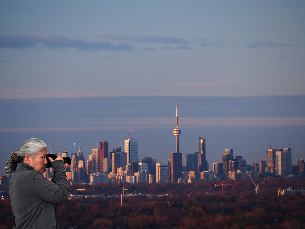 shooting the toronto skyline by fiveplustwo