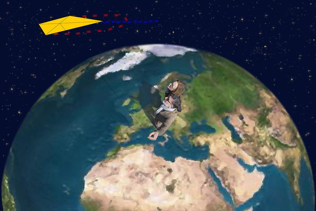 The kite #13 by domenicododaro