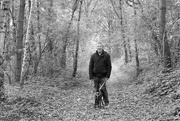 1st Apr 2020 - Phil and Ruby in The Woods Revisited (Yashica 50mm ML f1.7 vintage lens)