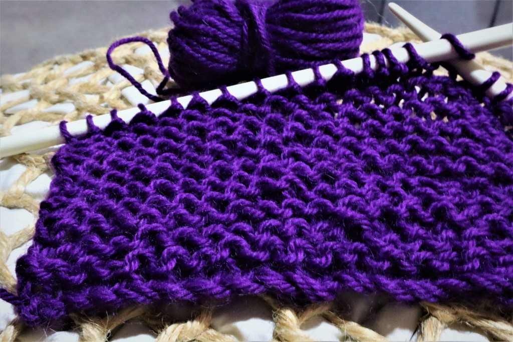 INDIGO 1 Knitting by sandradavies