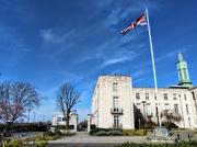 23rd Mar 2020 - Union flag outside Walthamstow Town Hall