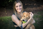 3rd Apr 2020 - No Prom, but She Got a Foster Puppy