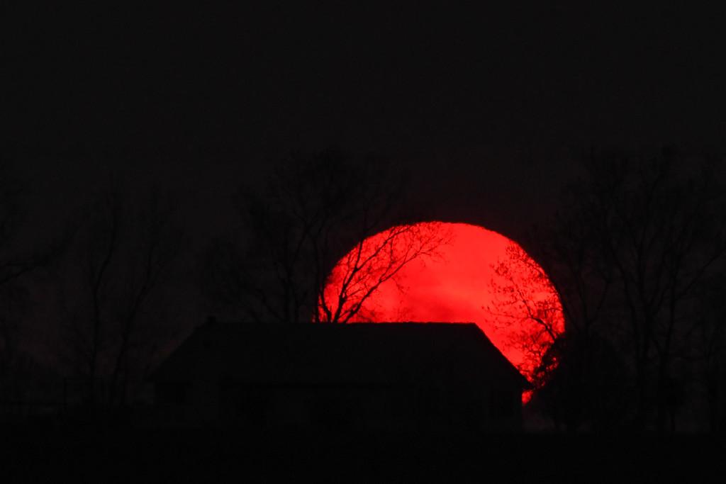 Kansas Sunset 3-31-20 by kareenking