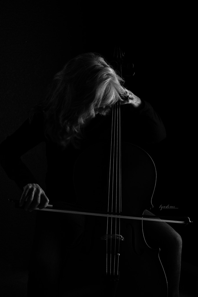 Me & My Cello by lyndemc