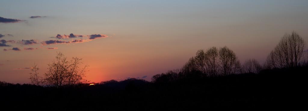 Palm Sunday Sunset by calm