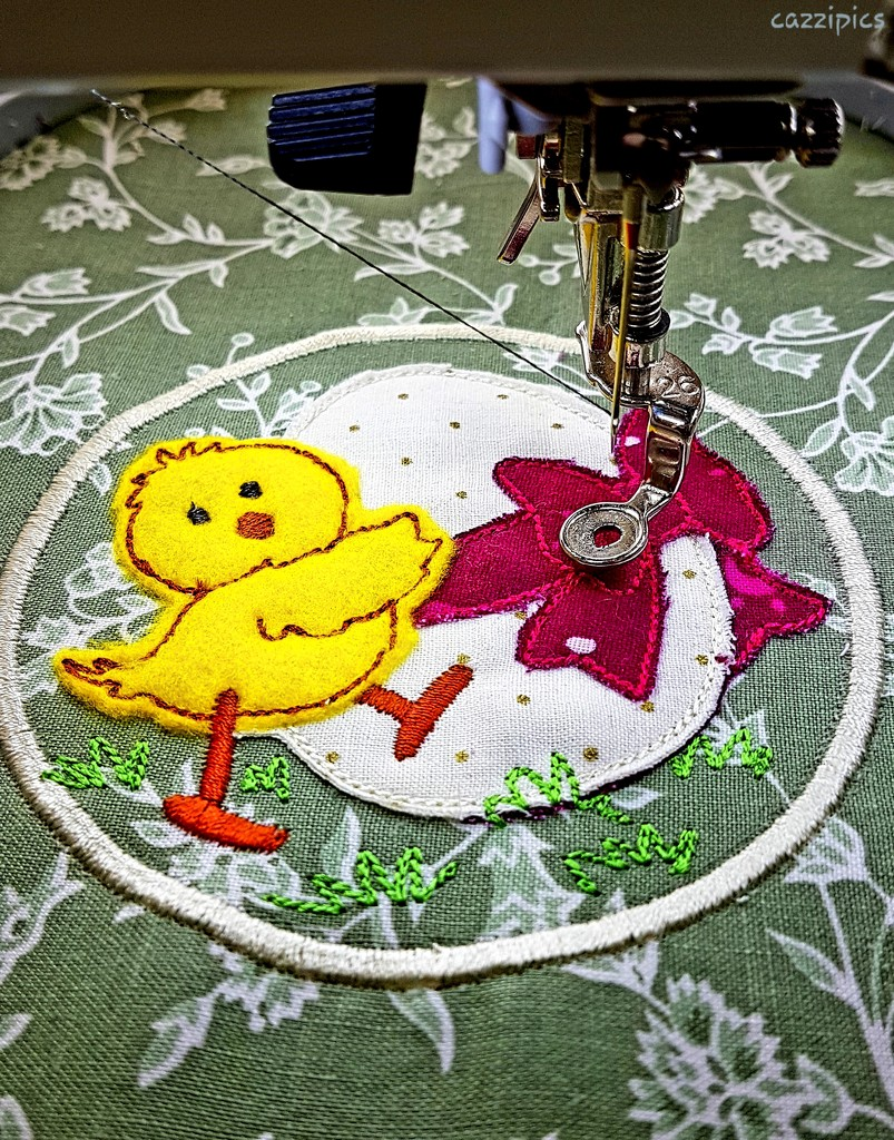 Easter Applique by serendypyty