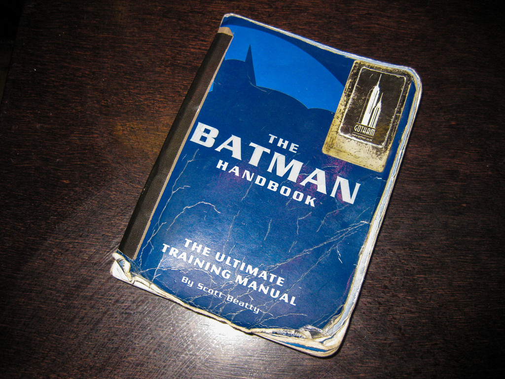 Batman Handbook by brigette