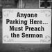 Church Parking Rules