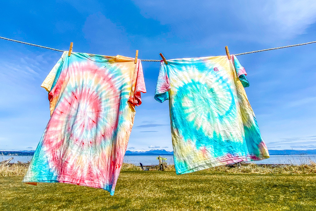 Tie-dyed by kwind