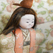 Day 7 Japanese dolls - Feathered friend