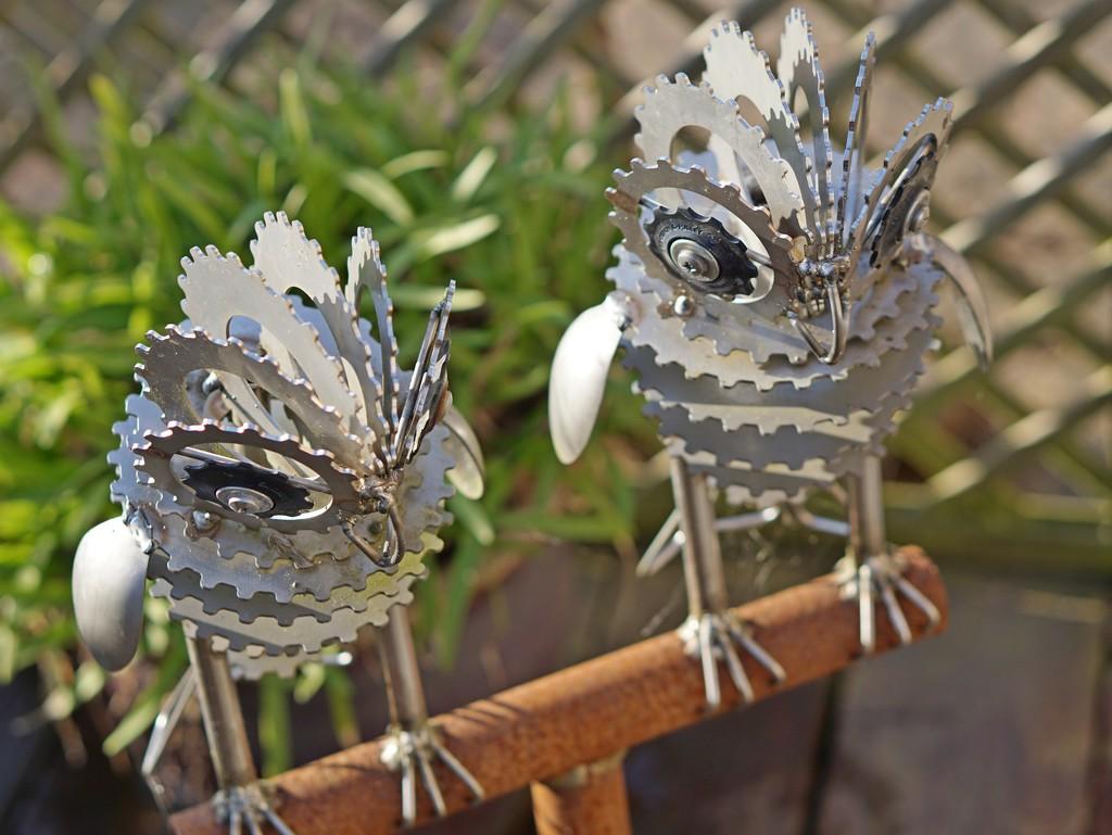 snowy owls by quietpurplehaze