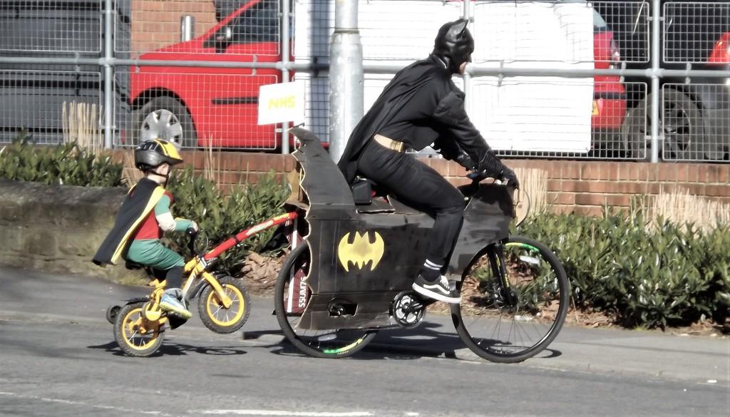 Batman and Robin by ajisaac