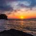 Evening Sunset in Washington