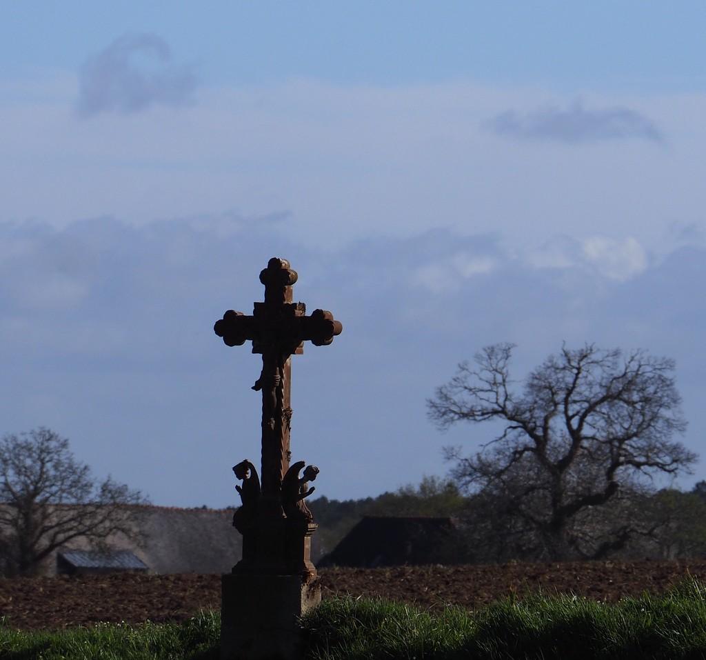 Wayside Cross by s4sayer