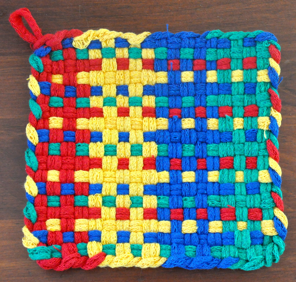 Yup, it is a potholder. by sailingmusic