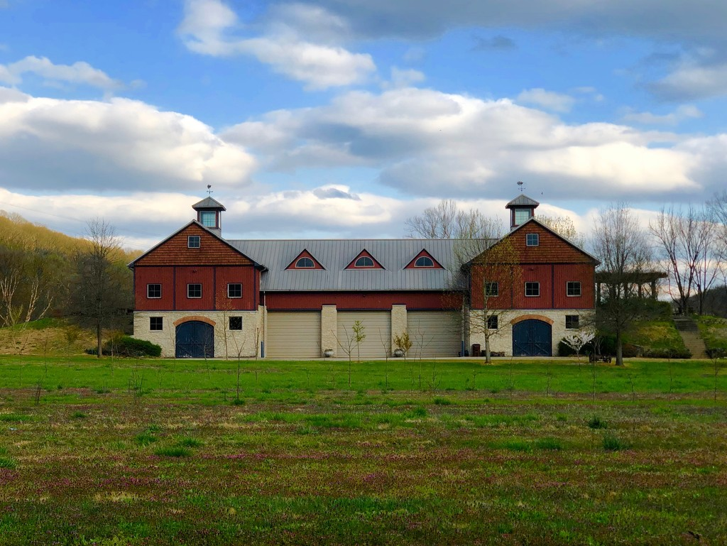 Barns on Bike Rides #3 by andewein