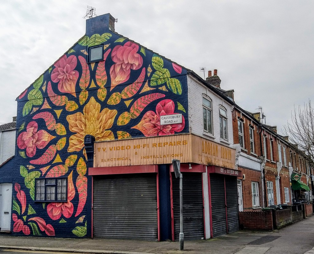 Beau Stanton mural by boxplayer
