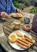 8th Apr 2020 - Breakfast in the garden